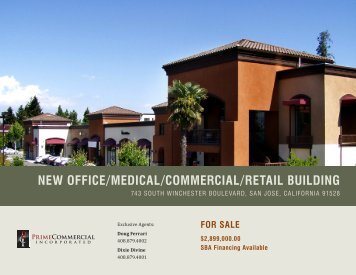 New Office/Medical/cOMMercial/retail BuildiNg - Prime Commercial ...
