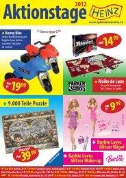Spielwaren Heinz Aktionsflyer 10 2012