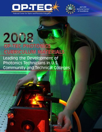 2007 OPTEC Catalog_email.pmd - National Center for Optics and ...