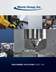 Download the corporate brochure. - Morris Group, Inc.