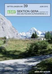 SEKTION INTERN - Sektion Gera