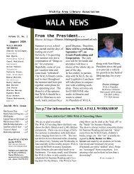 WALA NEWS