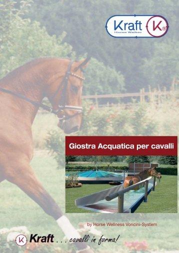 Giostra Acquatica per cavalli - Kraft Horse Walker