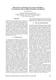 Influence des caractéristiques des contours mélodiques sur la durée ...