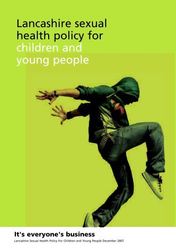 Sexual Health Policy - Lancashire County Council