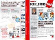 Elektro-Tipp - Hensel