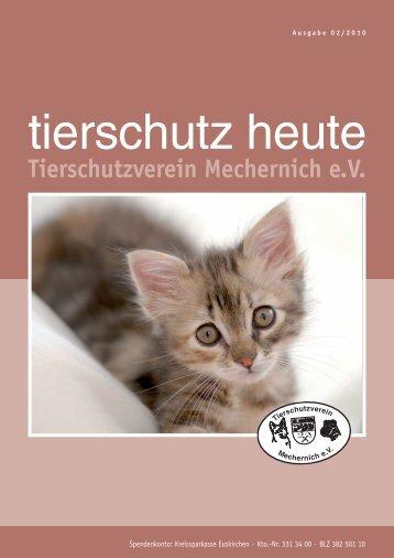 Tierschutzverein Mechernich e.v. - Deutscher Tierschutzverlag