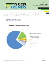 Results: January 2013 - National Comprehensive Cancer Network
