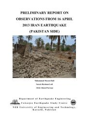 preliminary report on observations from 16 april 2013 iran ... - IAEE