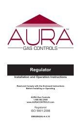 Regulator - AURA Gas Controls