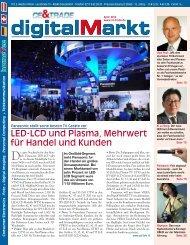 LED-LCD und Plasma, Mehrwert für Handel und Kunden