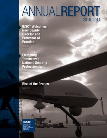 Annual Report 2010-11 - Institute for National Security and ...