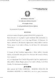 Consiglio di Stato sez. V 23/10/2012 n. 5408. - Appalti e Contratti