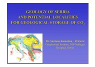 GEOLOGY OF SERBIA AND POTENTIAL LOCALITIES FOR ...