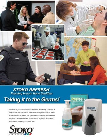 Taking it to the Germs! - STOKO Skin Care