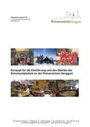 Konzept für die Einführung und den Betrieb der Schulsozialarbeit an ...