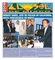 robert davis, jefe de policia de california, dicta ... - ElsoldeMixco.com