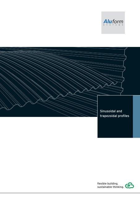 Sinusoidal and trapezoidal profiles - Logo der Aluform Systeme ...