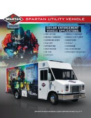 SPARTAN UTILITY VEHICLE - Spartan Chassis