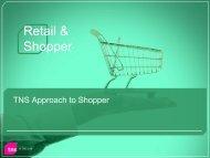 Retail & Shopper - TNS Canada
