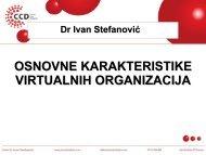 Virtuelne organizacije - Razvoj karijere