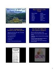 color slides - UCSF Osher Mini Medical School for the Public