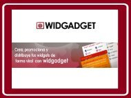 Presentación Widgadget en FICOD08 - Networking Activo