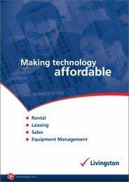 Making Technology Affordable - Livingston