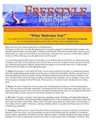 Fall 08.pub - Dallas Aquatic Masters