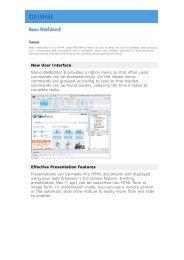 SJ Namo - Web Site Design Programs