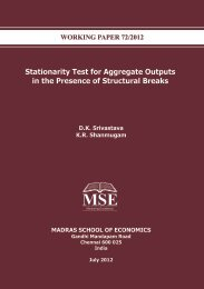 Stationarity Test for Aggregate Outputs in the Presence of Structural ...