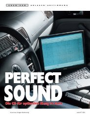 arbeiten mit dem Messsystem von Audio System ... - db-Junkies-Suhl