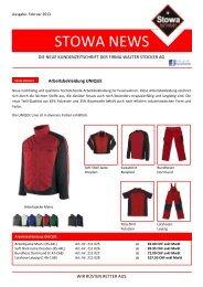 04.02.2013 STOWA Kundenzeitschrift mehr - Walter Stocker AG