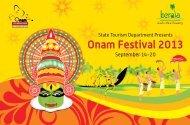 Onam Festival 2013 - Kerala Tourism