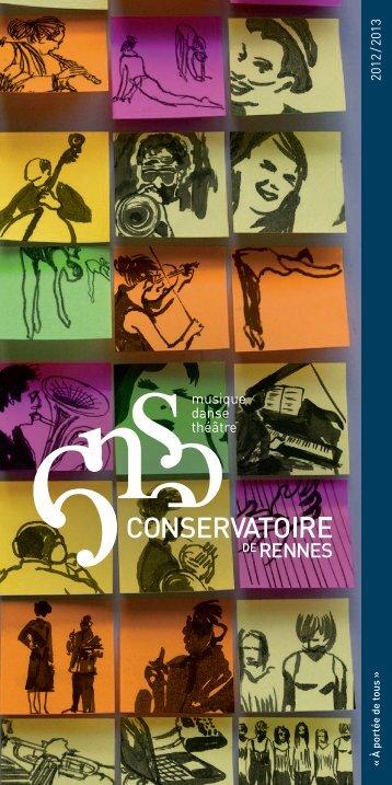« À portée de tous » - Conservatoire de Rennes - Ville de Rennes
