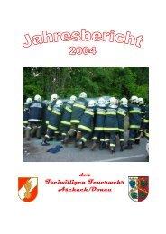 Jahresbericht 2004 FF Aschach an der Donau