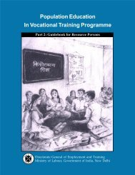 Population Education In Vocational  Training Programme Part 2