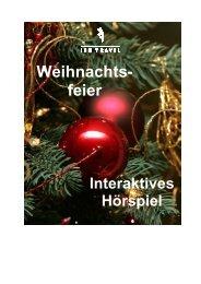 interaktive Hörspiel - IHB TRAVEL