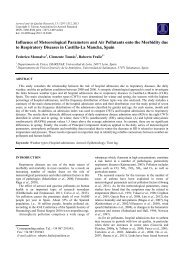 Influence of Meteorological Parameters and Air Pollutants ... - AAQR