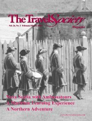 Vol. 24 No. 2 February-March 2006 - The Travel Society