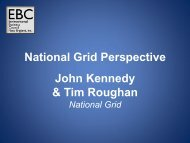 John Kennedy & Tim Roughan National Grid Perspective