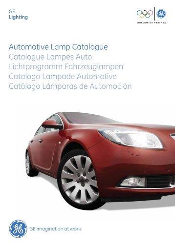Automotive Lamp Catalogue Catalogue Lampes Auto ...