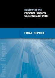 ReviewofthePersonalPropertySecuritiesAct2009FinalReport