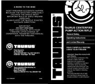 Thunderbolt Manual - Taurus