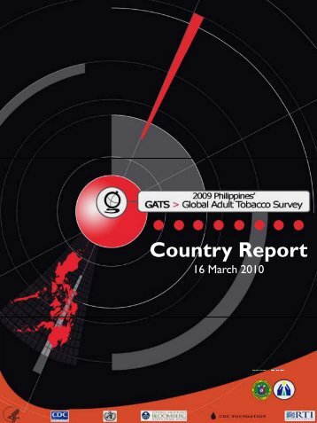 2009 Philippines Global Adult Tobacco Survey (GATS)