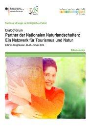 Dokumentation des Dialogforums - Bundesamt für Naturschutz