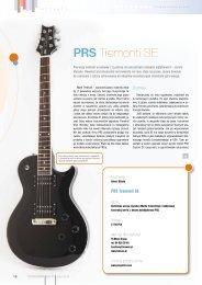 PRS Tremonti SE - FX-Music Group