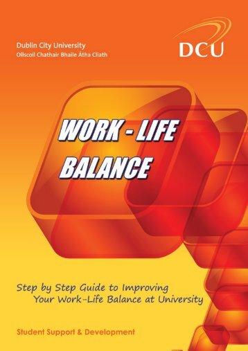 DCU Work Life Balance.indd