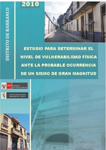 Distrito de Barranco - Indeci