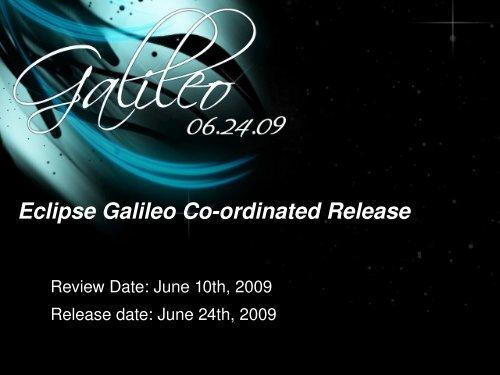 Eclipse Galileo Coordinated Release